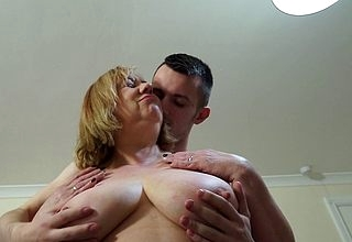 Chunky breasted Of a female lesbian Trisha loves sucking flannel