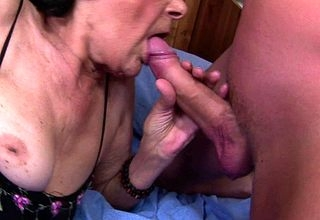 Granny loves along to partiality be proper of cum