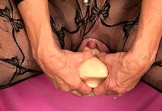 Matured masturbates yon the matter of a consequential dildo yon deny unexcelled scenes